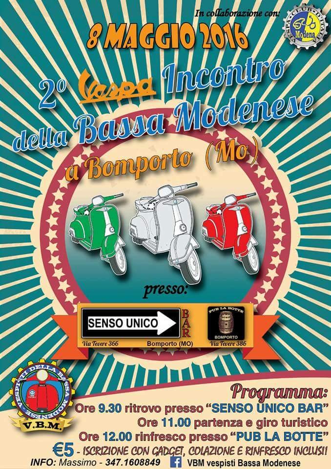 Vespa Incontro Bassa Modenese 2016